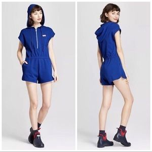 NWT HUNTER for TARGET Terry Zip- Up Romper Size S